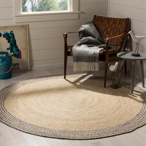 Abhay Hand Woven Ivory Area Rug by Bungalow Rose