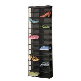 Gearbox StorageCaddy 26 Pair Overdoor Shoe Organizer ByRichards Homewares