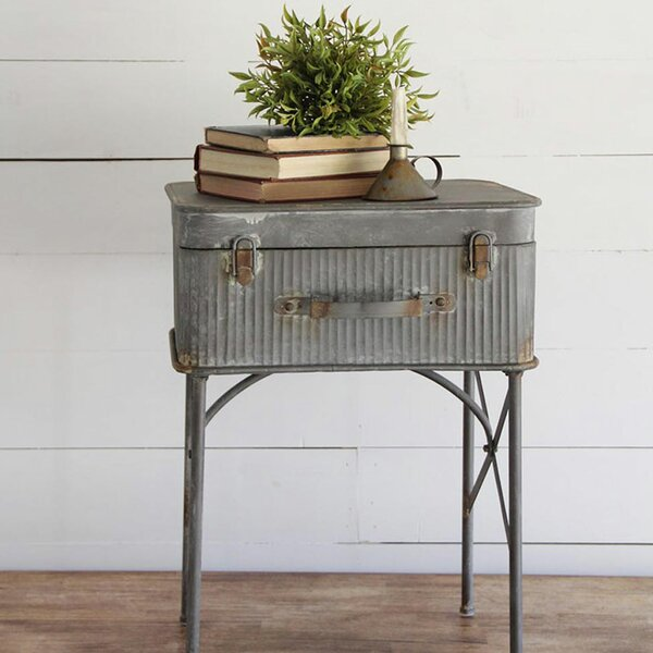 Devon Suitcase End Table by Foreside Home & Garden