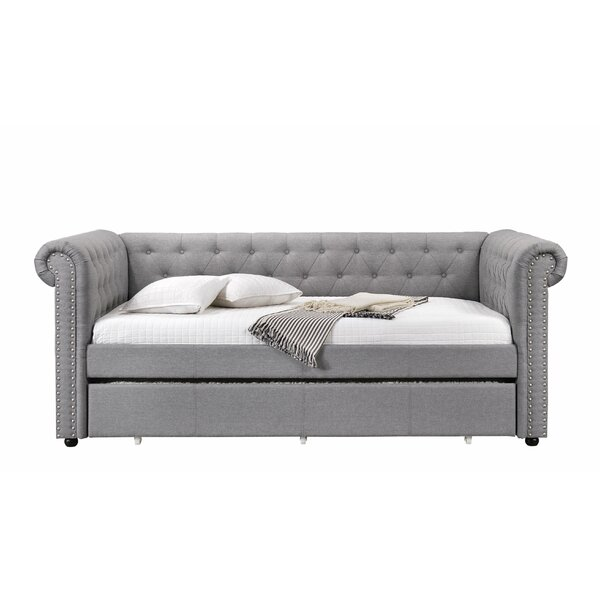 Saddleback Twin Daybed with Trundle by Red Barrel Studio Red Barrel Studio