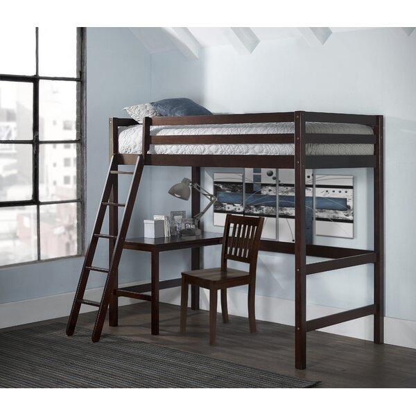 Twin Loft Bed with Chair by Birch Lane™