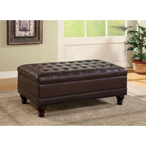 Ford Tufted Storage Ottoman by Alcott Hill