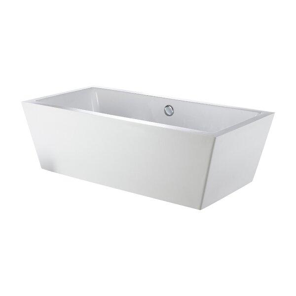 Rachel 60 x 31 Freestanding Bathtub by Eviva