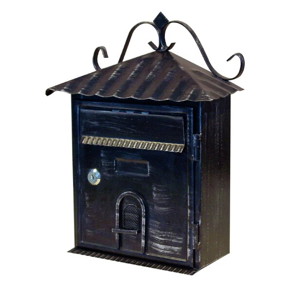 Vintage Locking Wall Mounted Mailbox by Fine Art Lighting