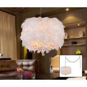 Finna 3-Light Crystal Chandelier