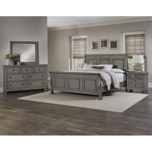 Chardon Sleigh Configurable Bedroom Set by Darby Home Co