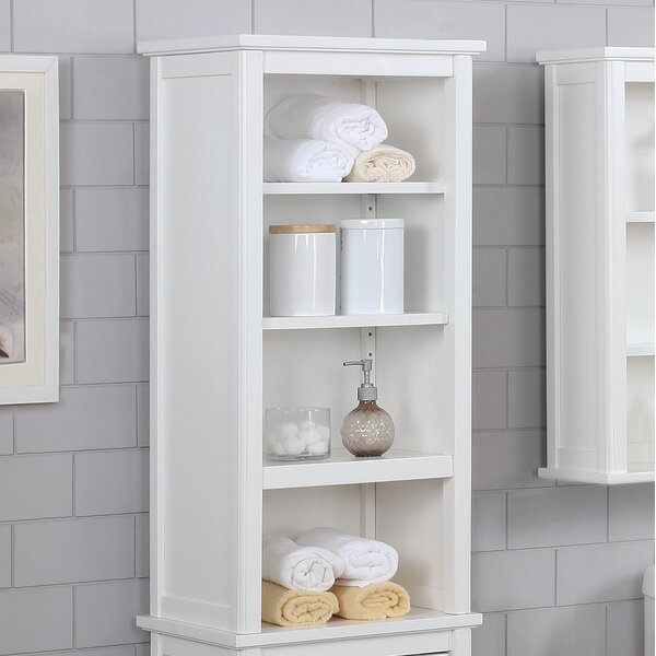 Carruthers 17 W x 36 H Bathroom Shelf