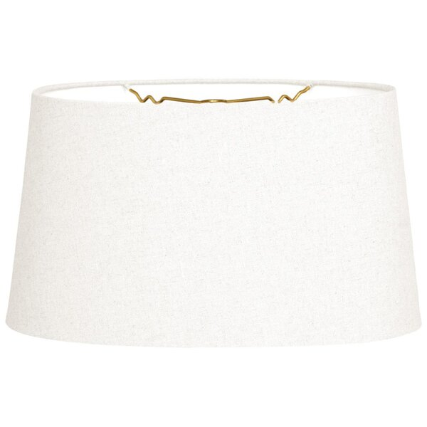 Linen Oval Lamp shade ( Spider )