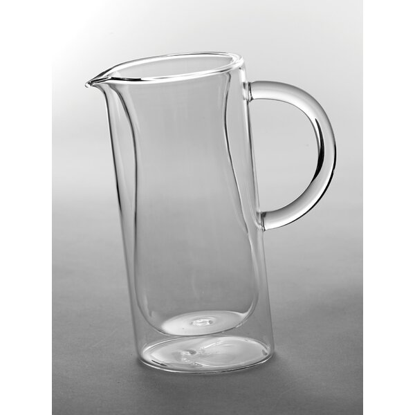 Lund Double Wall Pitcher by Gracie Oaks