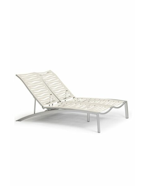 South Beach EZ Span™ Double Reclining Chaise Lounge by Tropitone