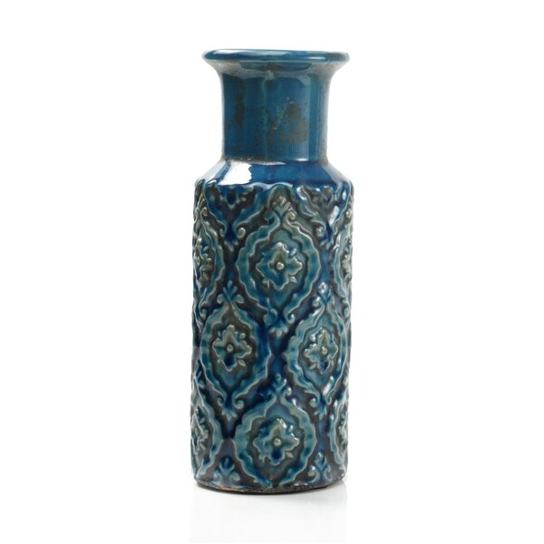 Casablanca Terra Cotta Table Vase by IMPULSE!