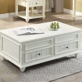 Sara Coffee Table with Lift Top by Rosecliff Heights