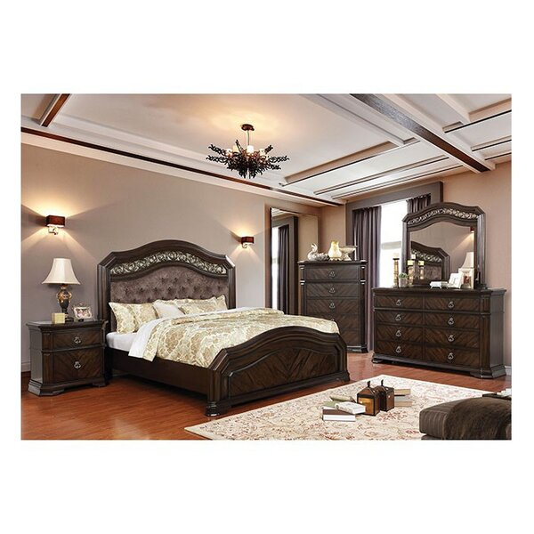 Robert California King Upholstered Standard Configurable Bedroom Set by Fleur De Lis Living