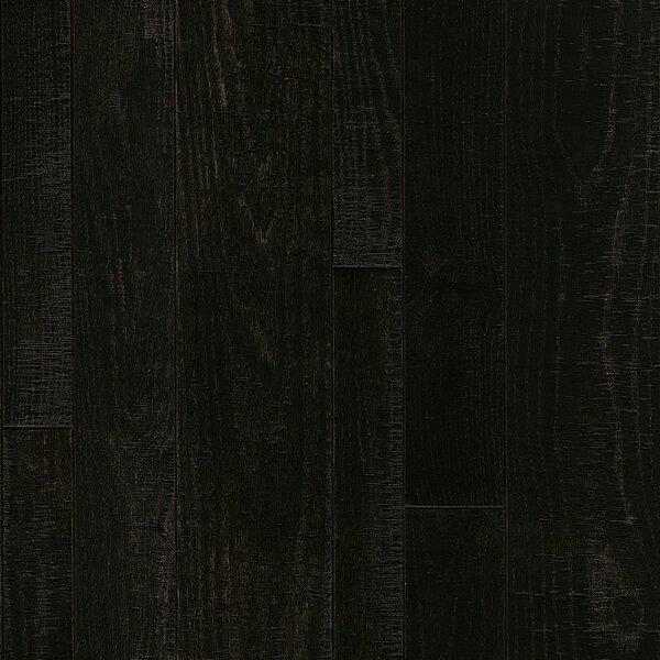 Random Width Solid Oak Hardwood Flooring in Classic Dark by Armstrong Flooring