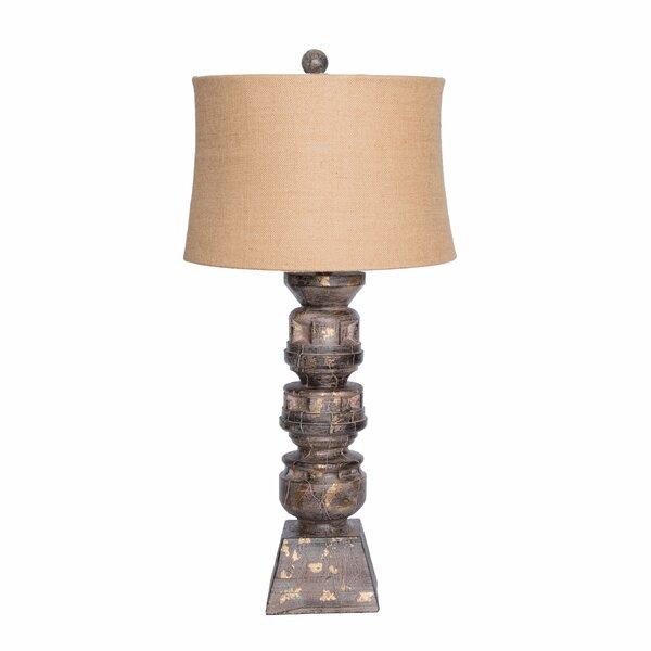 Resin Balustrade 34.5 Table Lamp by Wildon Home ®