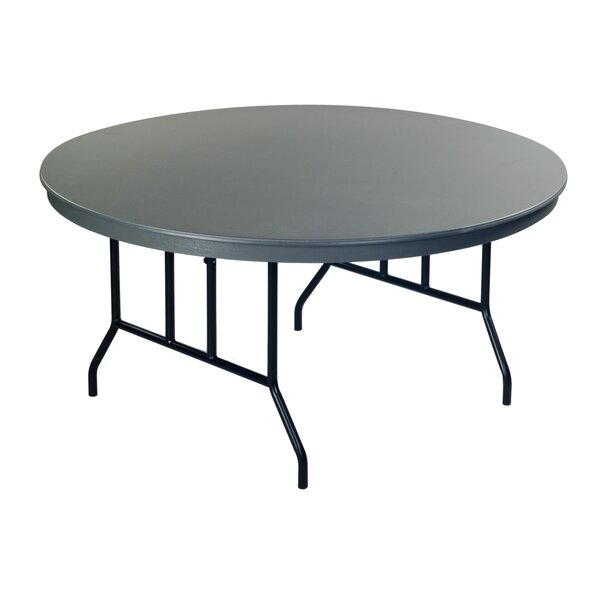 Round Folding Table by AmTab Manufacturing Corporation