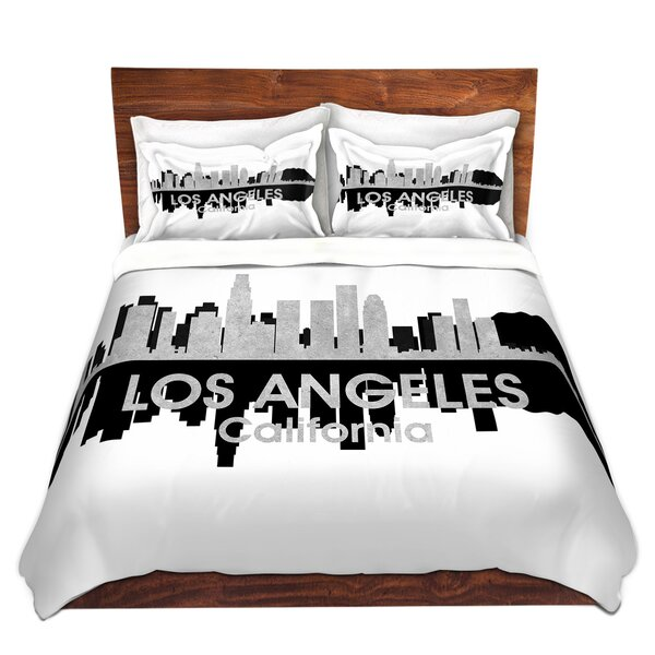 City IV Los Angeles California Duvet Set by East Urban Home