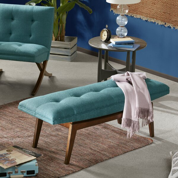 Altizer Upholstered Bench by Langley Street