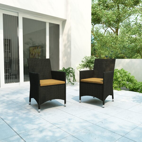 Zealand 2 Piece Seating Group Patio Chair with Cushions by Kitsco Kitsco