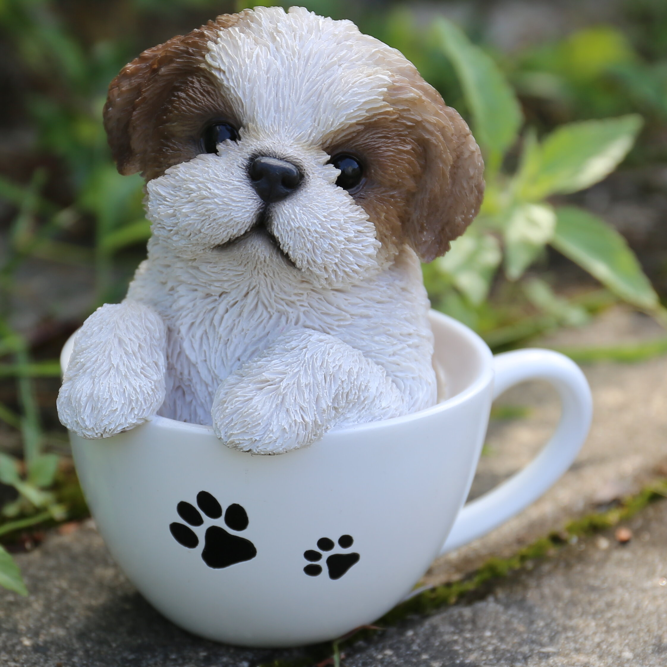 Hi Line Gift Ltd Teacup Shih Tzu Puppy Statue Reviews Wayfair