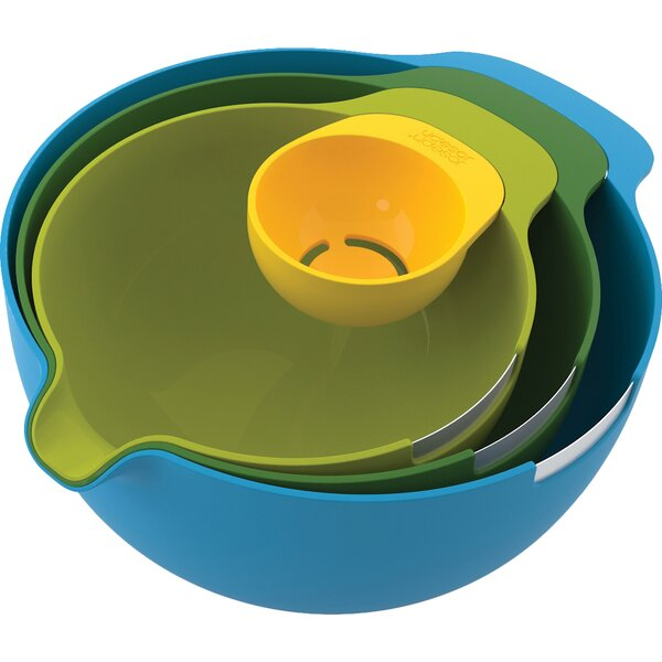 4 Piece Nest Mixing Bowl Set by Joseph Joseph