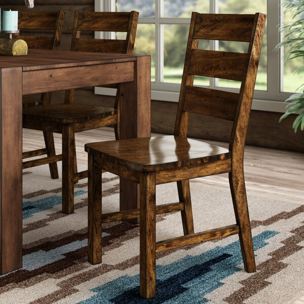 Nesbit Industrial Dining Chair (Set of 2) by Loon Peak