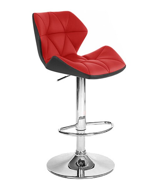 Spyder Adjustable Height Swivel Bar Stool (Set of 2) by Vandue Corporation