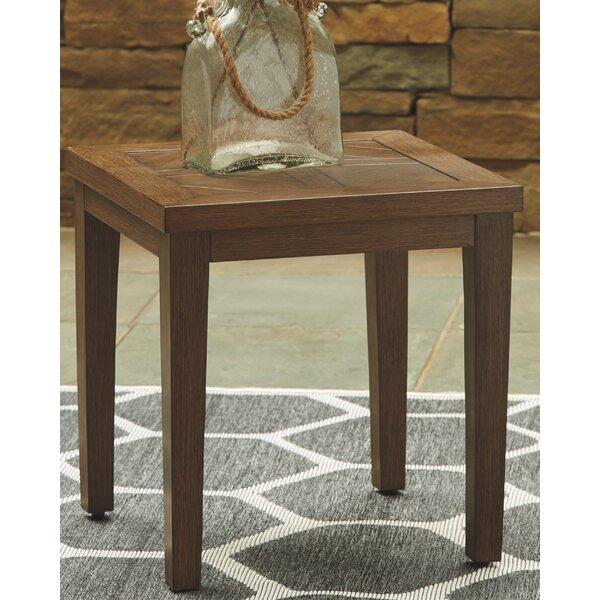 Estill Metal Side Table by Highland Dunes
