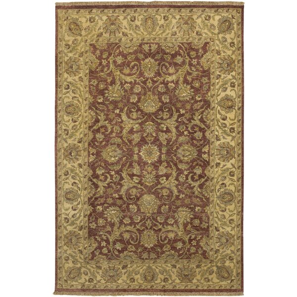 Harrell Brown Rug by Astoria Grand