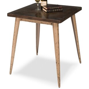 Tolix Cafe End Table by Sarreid Ltd