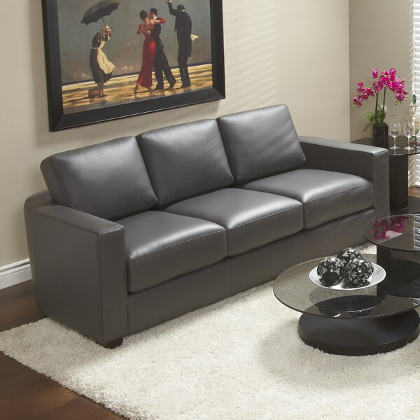 Marquis Top Grain Leather Sofa by Lind Furniture