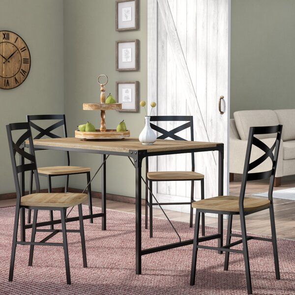 Samantha 5 Piece Dining Set by Laurel Foundry Modern Farmhouse