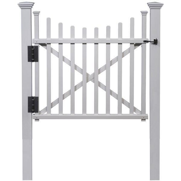 Manchester Vinyl Gate by Zippity Outdoor Products