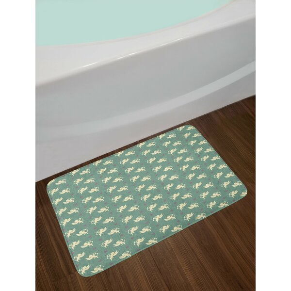 Greek Mythology Inspired Bath Rug by East Urban Home