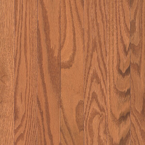 Barletta 2-1/4 Solid Oak Hardwood Flooring in Butterscotch by Mohawk Flooring