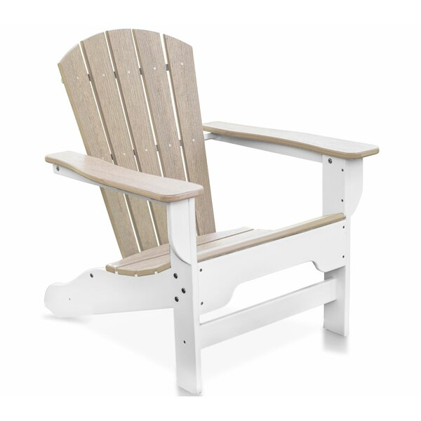 Strickland Plastic/Resin Adirondack Chair by Breakwater Bay Breakwater Bay