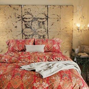 Newfield Boho Paisley Print Luxury Cotton 3 Piece Duvet Cover Set