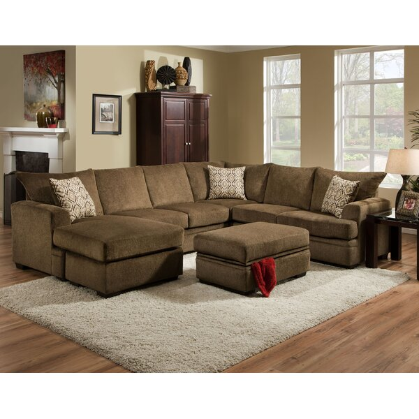 #1 Strothers Sectional By Red Barrel Studio 2019 Coupon