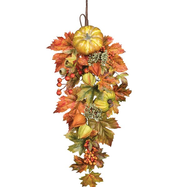 Fall Foliage Wall Swag by Andover Mills