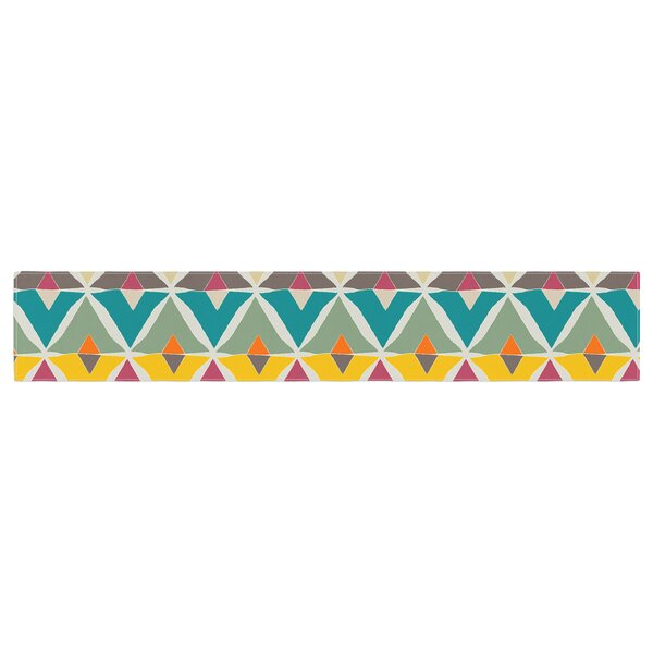 Julia Grifol My Diamond Table Runner by East Urban Home