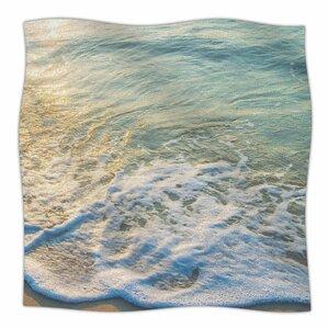 susan sanders ocean beach water photography fleece throw - Fleece Throws