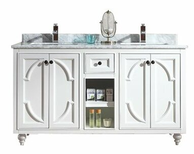 Odyssey 60 Double Bathroom Vanity Set by Laviva