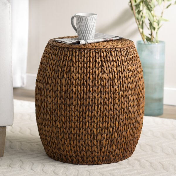 Nobles Drum End Table By Beachcrest Home