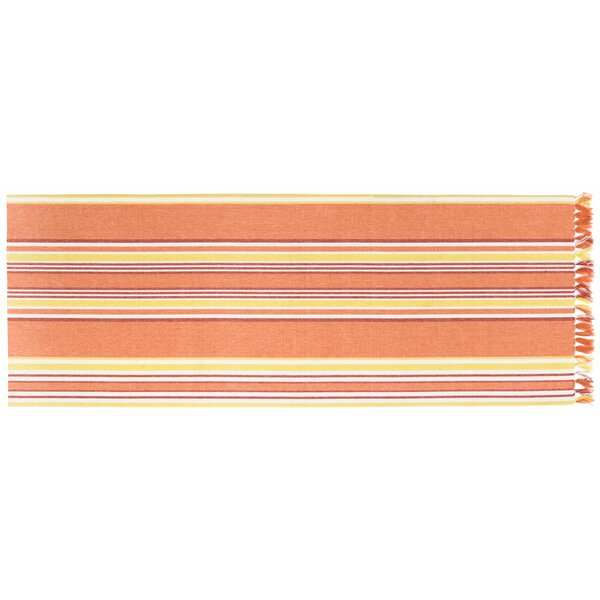 Hanford Striped Table Runner (Set of 2) by Highland Dunes