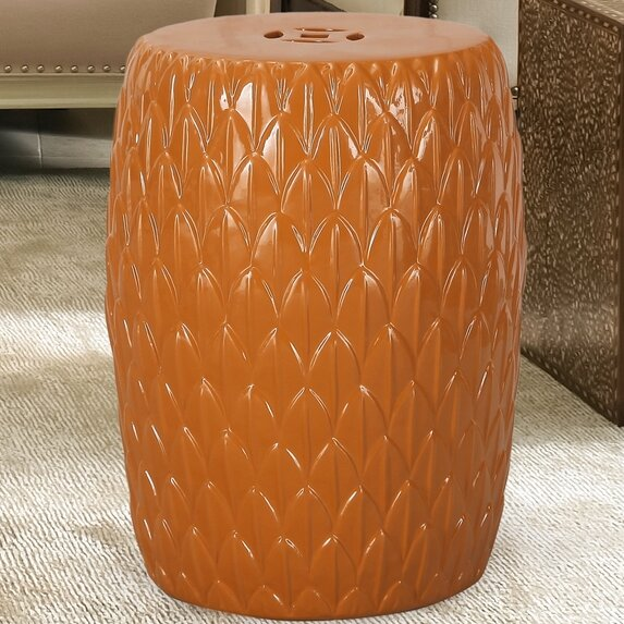 Ceramic Garden Stool by Homebeez