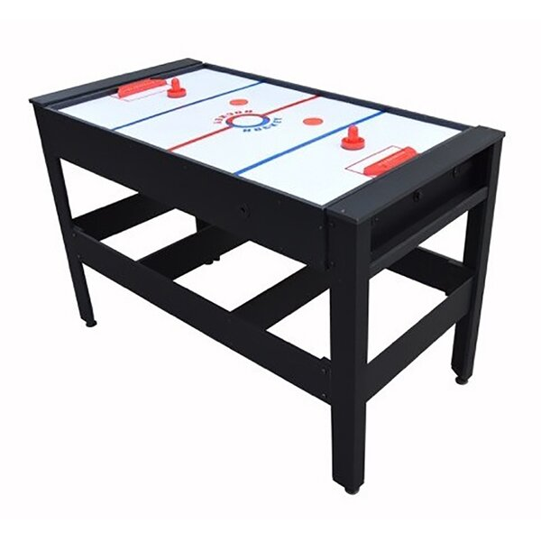 Voit 54 Flip Table 4 in 1 Combo Pool Table Tennis Football Push Hockey by Voit