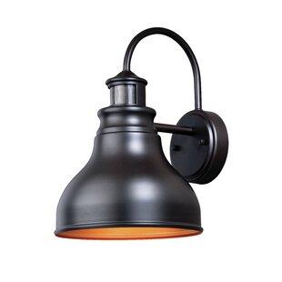 Searching for Lavardin Dualux® Brass 1-Light Outdoor Barn Light By Laurel Foundry Modern Farmhouse