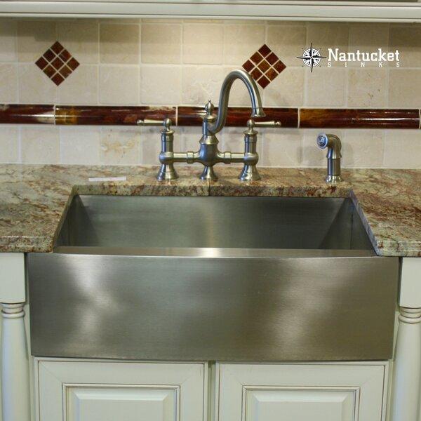 Pro Series 30 L x 20 W Farmhouse/Apron Kitchen Sink by Nantucket Sinks