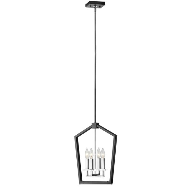 Casitas 4-Light Lantern Chandelier By Mercer41