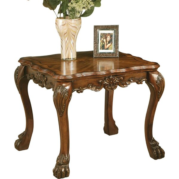 Selena Wooden End Table by Astoria Grand